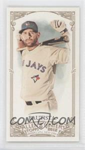 2012 Topps Allen & Ginter's Minis Rip Card High Numbers #387 - Jose Bautista