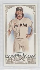 2012 Topps Allen & Ginter's Minis Rip Card High Numbers #395 - Jose Reyes