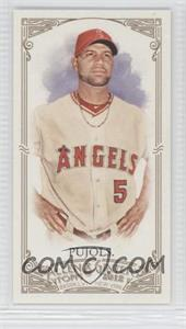 2012 Topps Allen & Ginter's Minis Rip Card High Numbers #399 - Albert Pujols