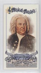 2012 Topps Allen & Ginter's Musical Masters Minis #MM-1 - Johann Sebastian Bach