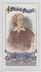 2012 Topps Allen & Ginter's Musical Masters Minis #MM-12 - Franz Liszt