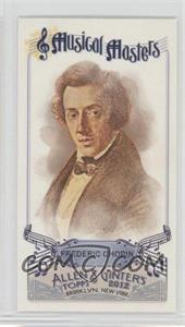 2012 Topps Allen & Ginter's Musical Masters Minis #MM-13 - Frederic Chopin