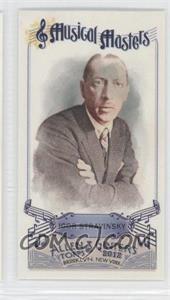 2012 Topps Allen & Ginter's Musical Masters Minis #MM-14 - Igor Stravinsky