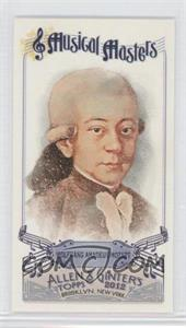 2012 Topps Allen & Ginter's Musical Masters Minis #MM-2 - Wolfgang Amadeus Mozart