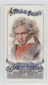 2012 Topps Allen & Ginter's Musical Masters Minis #MM-3 - Ludwig Van Beethoven
