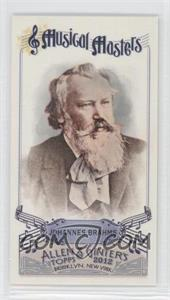 2012 Topps Allen & Ginter's Musical Masters Minis #MM-6 - Johannes Brahms