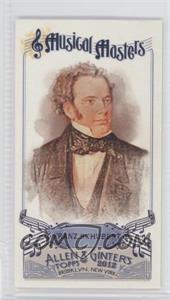 2012 Topps Allen & Ginter's Musical Masters Minis #MM-7 - Franz Schubert