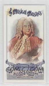 2012 Topps Allen & Ginter's Musical Masters Minis #MM-8 - George Frideric Handel