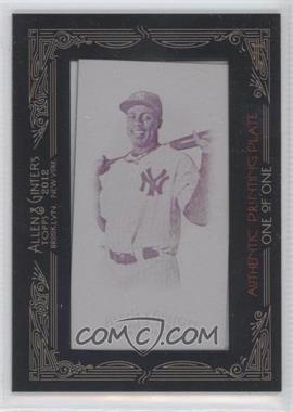 2012 Topps Allen & Ginter's Printing Plate Minis Magenta Framed #392 - Curtis Granderson /1