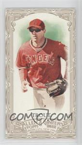 2012 Topps Allen & Ginter's Retail [Base] Minis Gold Border #140 - Mike Trout