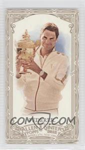 2012 Topps Allen & Ginter's Retail [Base] Minis Gold Border #157 - Roger Federer