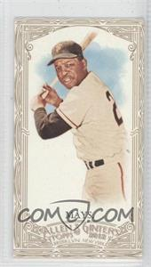 2012 Topps Allen & Ginter's Retail [Base] Minis Gold Border #210 - Willie Mays