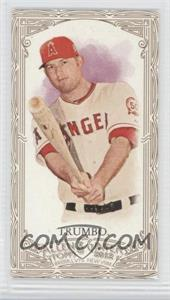 2012 Topps Allen & Ginter's Retail [Base] Minis Gold Border #296 - Mark Trumbo