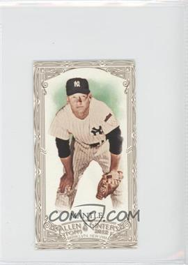 2012 Topps Allen & Ginter's Retail [Base] Minis Gold Border #7 - Mickey Mantle