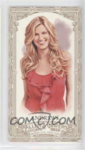 2012 Topps Allen & Ginter's Retail [Base] Minis Gold Border #75 - Erin Andrews