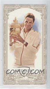 2012 Topps Allen & Ginter's Retail Minis Gold Border #157 - Roger Federer