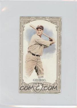 2012 Topps Allen & Ginter's Retail Minis Gold Border #196 - Lou Gehrig