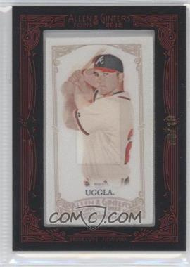 2012 Topps Allen & Ginter's Silk Mini Framed #N/A - Dan Uggla /10