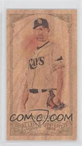 2012 Topps Allen & Ginter's Wood Minis #304 - Kyle Farnsworth /1