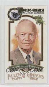 2012 Topps Allen & Ginter's World's Greatest Military Leaders Minis #ML-10 - Dwight D. Eisenhower