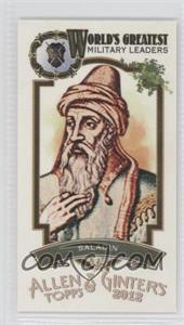 2012 Topps Allen & Ginter's World's Greatest Military Leaders Minis #ML-13 - Saladin