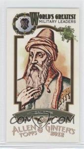 2012 Topps Allen & Ginter's World's Greatest Military Leaders Minis #ML-13 - Saladin