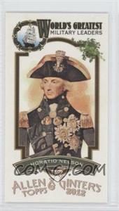 2012 Topps Allen & Ginter's World's Greatest Military Leaders Minis #ML-15 - [Missing]