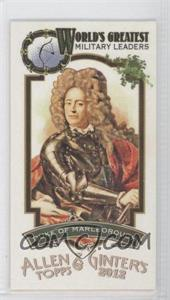 2012 Topps Allen & Ginter's World's Greatest Military Leaders Minis #ML-17 - Duke of Marlborough