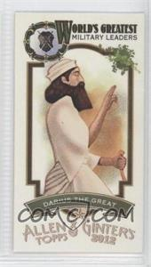 2012 Topps Allen & Ginter's World's Greatest Military Leaders Minis #ML-19 - Dallas Green