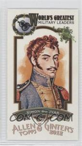 2012 Topps Allen & Ginter's World's Greatest Military Leaders Minis #ML-2 - [Missing]