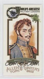 2012 Topps Allen & Ginter's World's Greatest Military Leaders Minis #ML-2 - Simon Bolivar