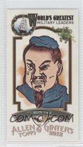 2012 Topps Allen & Ginter's World's Greatest Military Leaders Minis #ML-20 - Sun Tzu