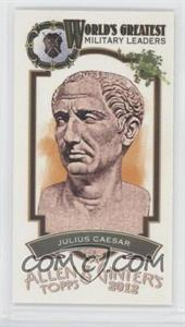 2012 Topps Allen & Ginter's World's Greatest Military Leaders Minis #ML-4 - Juan Castro
