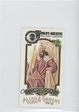 2012 Topps Allen & Ginter's World's Greatest Military Leaders Minis #ML-5 - Cyrus the Great
