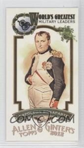 2012 Topps Allen & Ginter's World's Greatest Military Leaders Minis #ML-7 - [Missing]