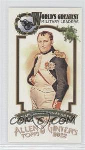 2012 Topps Allen & Ginter's World's Greatest Military Leaders Minis #ML-7 - Nathan Bowden
