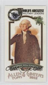 2012 Topps Allen & Ginter's World's Greatest Military Leaders Minis #ML-8 - [Missing]
