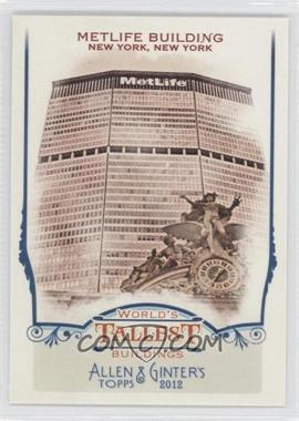 2012 Topps Allen & Ginter's World's Tallest Buildings #WTB10 - [Missing]