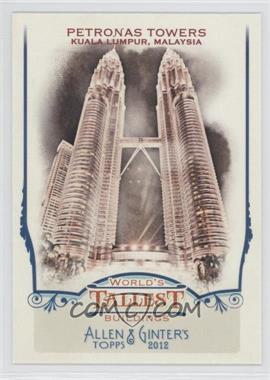 2012 Topps Allen & Ginter's World's Tallest Buildings #WTB3 - [Missing]