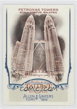 2012 Topps Allen & Ginter's World's Tallest Buildings #WTB3 - Pedro Toribio