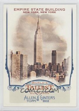 2012 Topps Allen & Ginter's World's Tallest Buildings #WTB6 - [Missing]