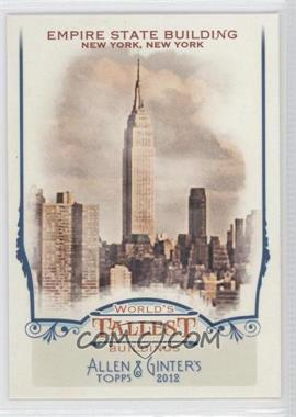 2012 Topps Allen & Ginter's World's Tallest Buildings #WTB6 - [Missing]