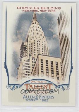 2012 Topps Allen & Ginter's World's Tallest Buildings #WTB7 - Chrysler Building