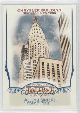 2012 Topps Allen & Ginter's World's Tallest Buildings #WTB7 - [Missing]