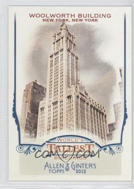 2012 Topps Allen & Ginter's World's Tallest Buildings #WTB9 - [Missing]