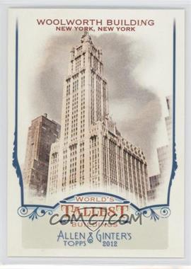 2012 Topps Allen & Ginter's World's Tallest Buildings #WTB9 - Woolworth Building