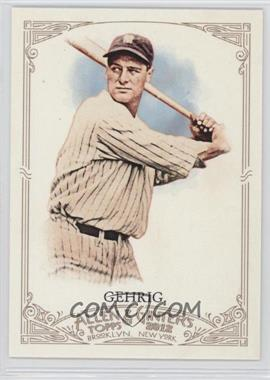 2012 Topps Allen & Ginter's #196 - Lou Gehrig