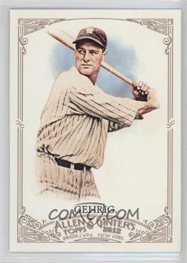 2012 Topps Allen & Ginter's #196 - Lou Gehrig