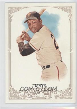 2012 Topps Allen & Ginter's #210 - Willie Mays