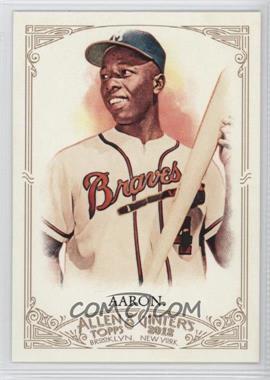 2012 Topps Allen & Ginter's #247 - Hank Aaron